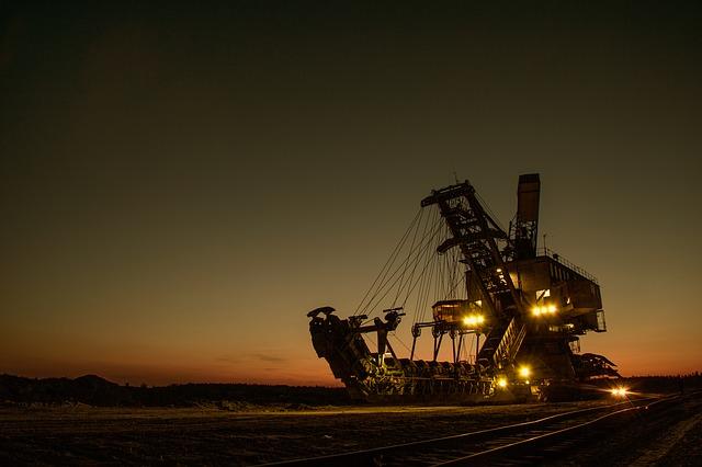 důlní bagr