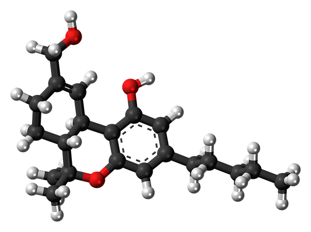 molekula THC